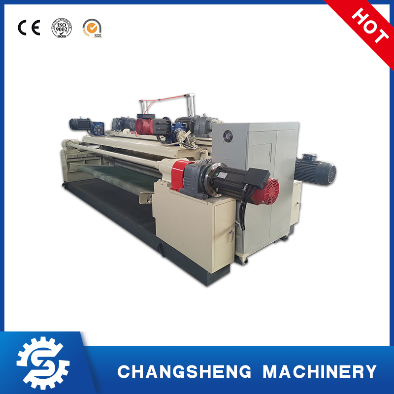 Automatic Spindleless 8 Feet Rotary Veneer Peeling Making Machine