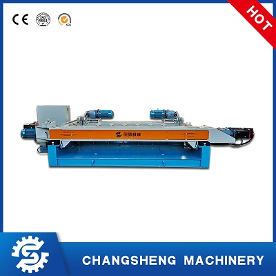 Rotary 8 Feet Plywood Veneer Peeling Machine Spindle-less