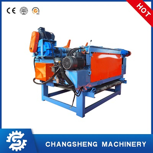 Plywood Machine 4 Feet Double Saw Blade Log Debarker Machine Crusher Bark