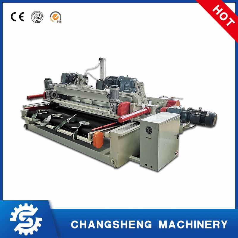 6 Feet Spindleless Wood Veneer Peeling Machine