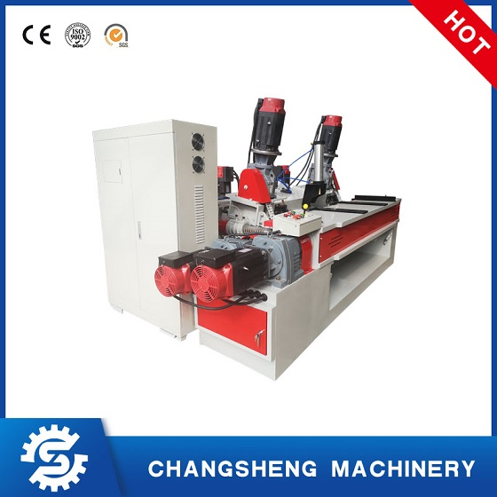 Plywood Making Machine High Speed Veneer Peeling Machine