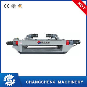 Rotary 8 Feet Face Veneer Peeling Machine Spindle-less