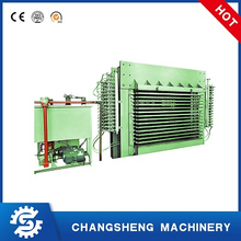 15 Layers Plywood Laminating Hot Press Machine