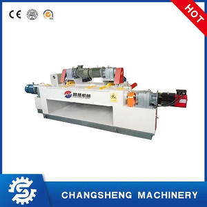 Spindle Less 4 Feet Plywood Making Machine Veneer Peeling Machine