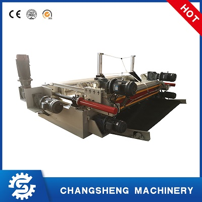 8 Feet Face Veneer Peeling Machine Hydraulic spindle-less