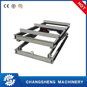 Hydraulic Lift Platform for edge trimming machine