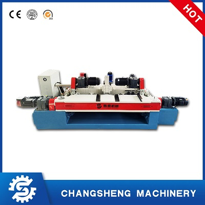 6 Feet Spindle Less Wood Veneer Peeling Cutting Machine