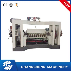 4 Feet Spindle Plywood Veneer Peeling Making Machine