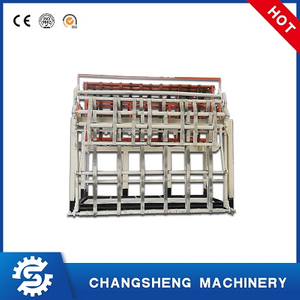 Swing Type Core Veneer Stacker For Plywood