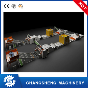 8 Feet Spindleless Plywood Veneer Production Line