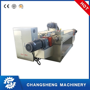 Hydraulic Plywood Veneer Peeling Machine Spindle-less 4 Feet