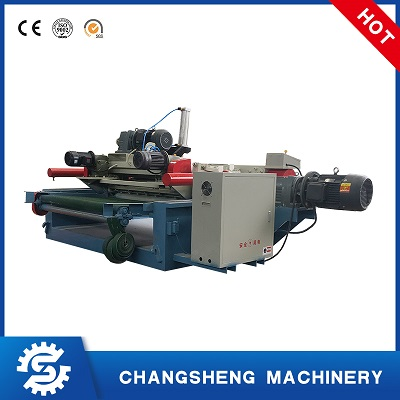Plywood Making Machine Spindle Less 4 Feet Veneer Peeling Machine