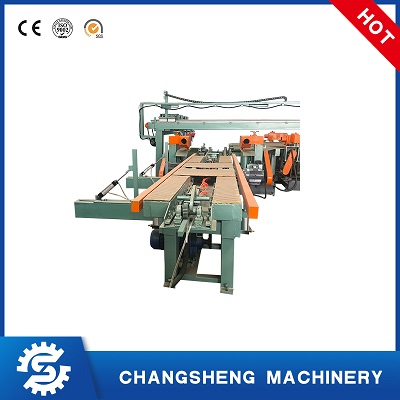 Precision Plywood Edge Cutting Trimming Saw Machine